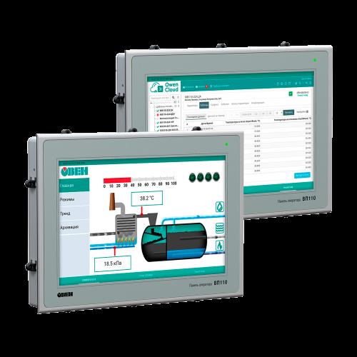 HMI панель AQUALogic First. Экран 10,1