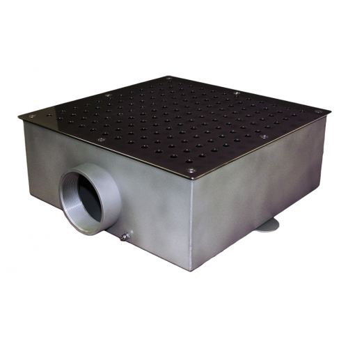 Донный слив квадратный 350х350х150 AISI316L