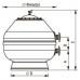 """Фильтр """"Vesubio"""" с боковым вентилем, для частных бассейнов - 40996"""