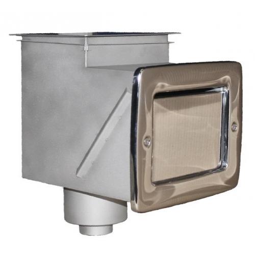 Скиммер 25 м² с удлинённой горловиной AISI316L