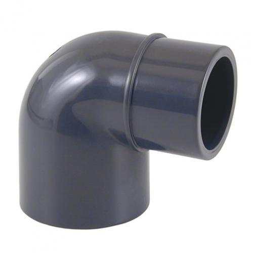 Отвод 90º (клеевой редукционный, муфтовое-втулочное окончание)