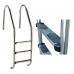 "Лестница ""Standard"" со ступеньками ""Luxe"", AISI-316"