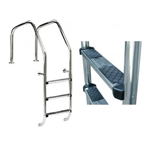 """Лестница """"1000"""" для переливных бассейнов, AISI-316"""