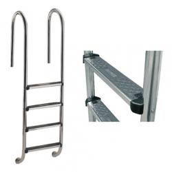 "Лестница ""Wall"" со ступеньками ""Standard"", AISI-304"
