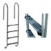 "Лестница ""Wall"" со ступеньками ""Luxe"", AISI-316"