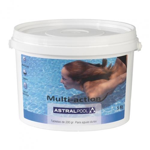 Мультихлор для жесткой воды, таблетки 250 г