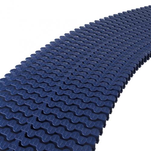 Решетка модульная, поперечная, для изгибов, пластик (5 цветов)