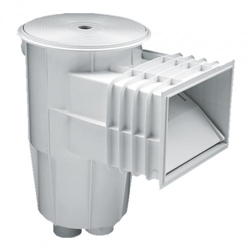 Скиммер 15 л. со стандартным раструбом, для бетонных бассейнов, ABS-пластик