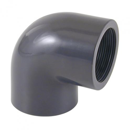 Отвод 90º (клеевой-внутренняя резьба)