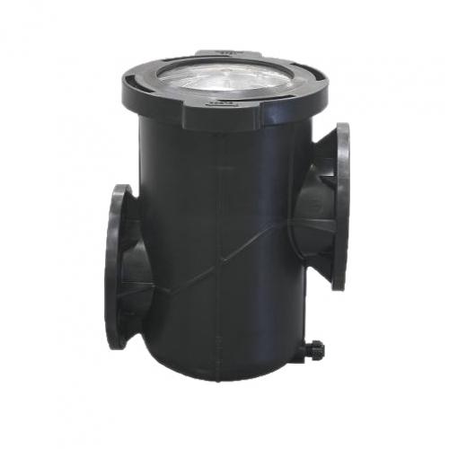 """Префильтр для насоса """"Kivu"""", емкость 25 л., со смотровым окном, полипропилен и стеклопластик"""