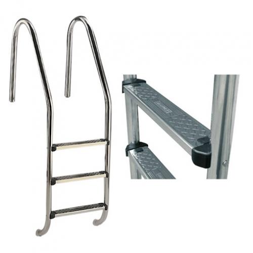 "Лестница ""Standard"" со ступеньками ""Standard"", AISI-304"