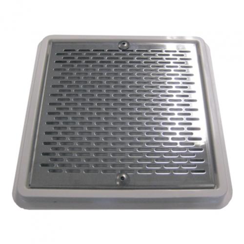 Решетка донного слива для частных бассейнов, нержавеющая сталь