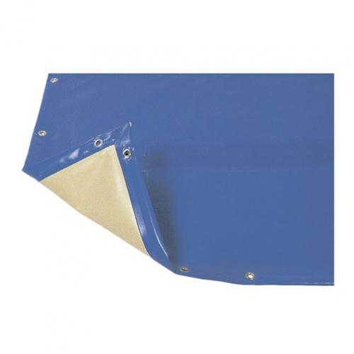 """Покрытие защитное """"Intersup"""", синий/слоновой кости цвет, ПВХ"""