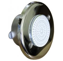 """Прожектор светодиодный 10 Вт """"Холодный белый"""" 12В, из нерж. стали с закладной, плёнка"""