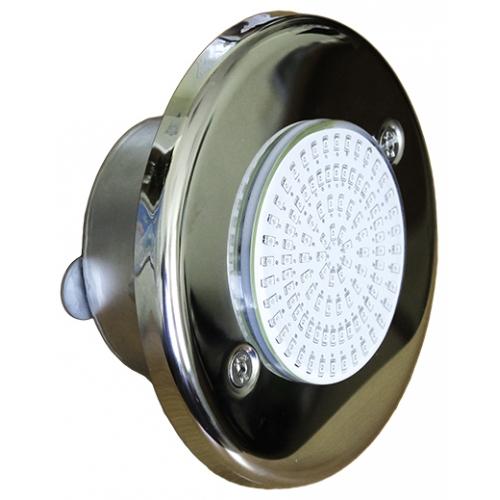 """Прожектор светодиодный 10 Вт """"Холодный белый"""" 12В, из нерж. стали с закладной, плёнка Р11-14.1"""
