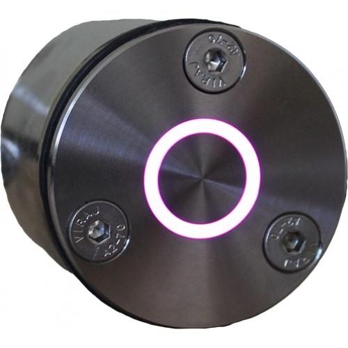 Пьезокнопка Р12-01.1 с закладной и блоком управления Ø50