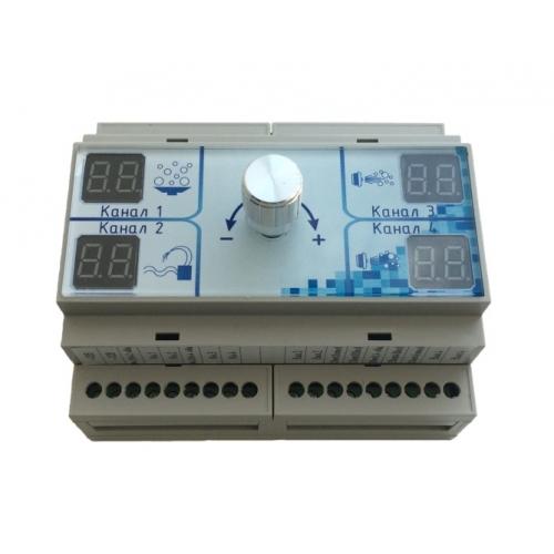 Блок управления с таймером для аттракционов Р12-02.1