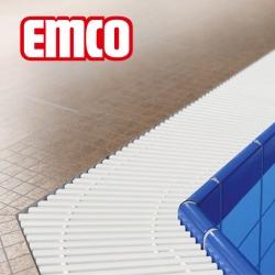 Переливные решетки для бассейна из пластика EMCO, Германия
