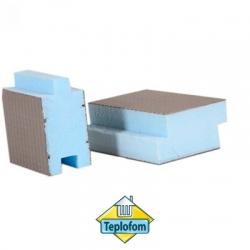 Теплоизоляционная панель Teplofom+ SP шип-паз односторонняя (2500х600мм)