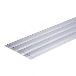 Ламели ПВХ, цвет серый