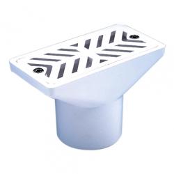 Форсунка переливного желоба для наполнения бассейна, ABS-пластик